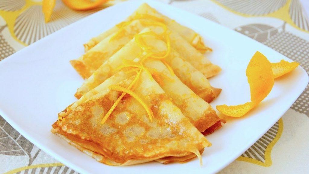 Апельсиновые блинчики – очень интересный и вкусный рецепт