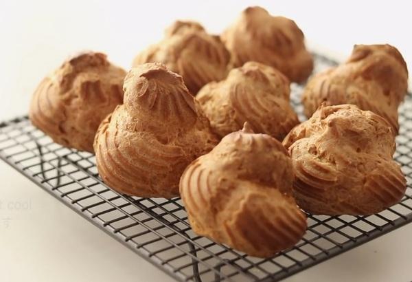 Заварные пирожные с нежной начинкой