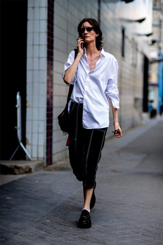 7 лайфхаков как носить белую рубашку