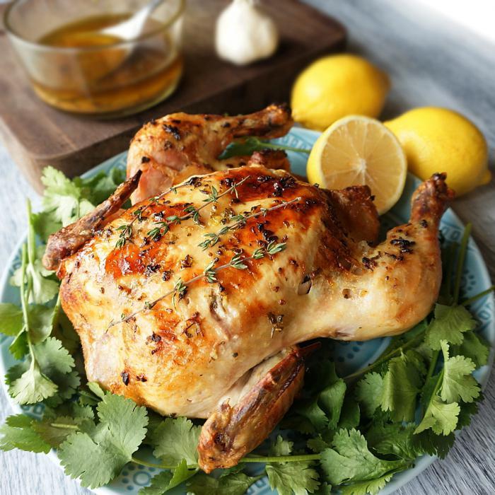 Готовим вкуснейшую курицу, запеченную в фольге