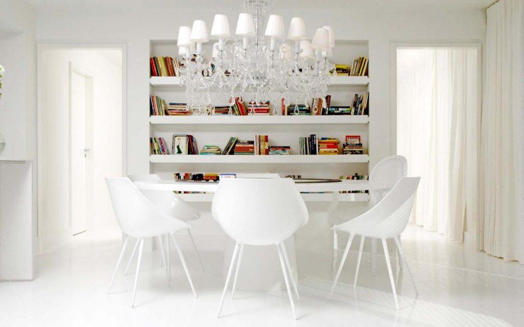 Правильное применение белого цвета в интерьере