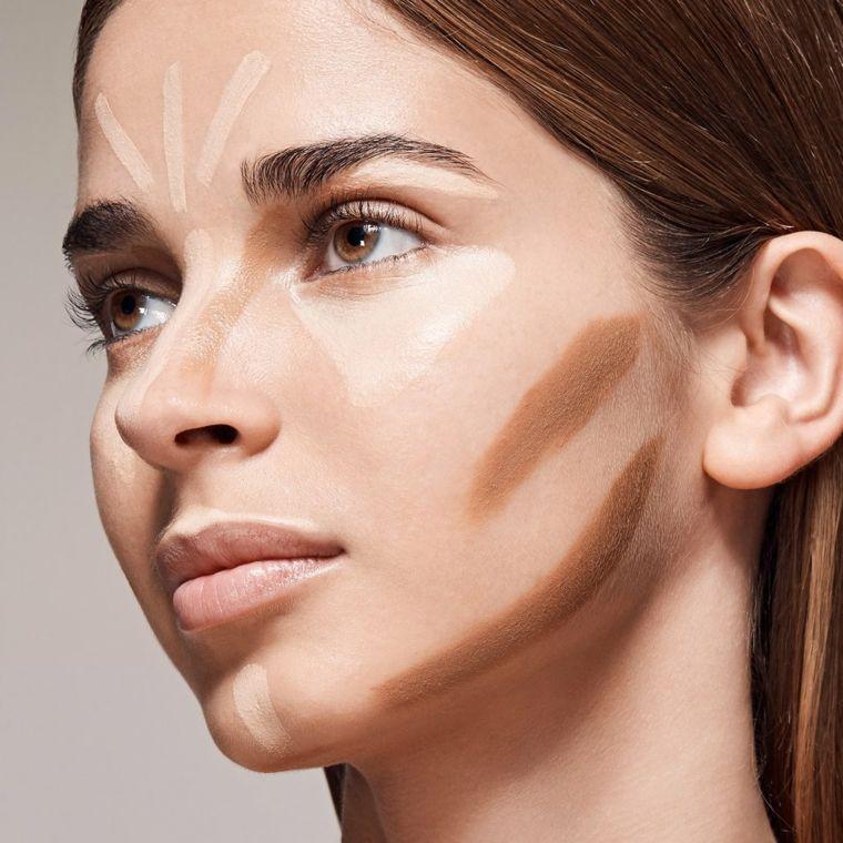 Как визуально сузить лицо: секреты контурного макияжа