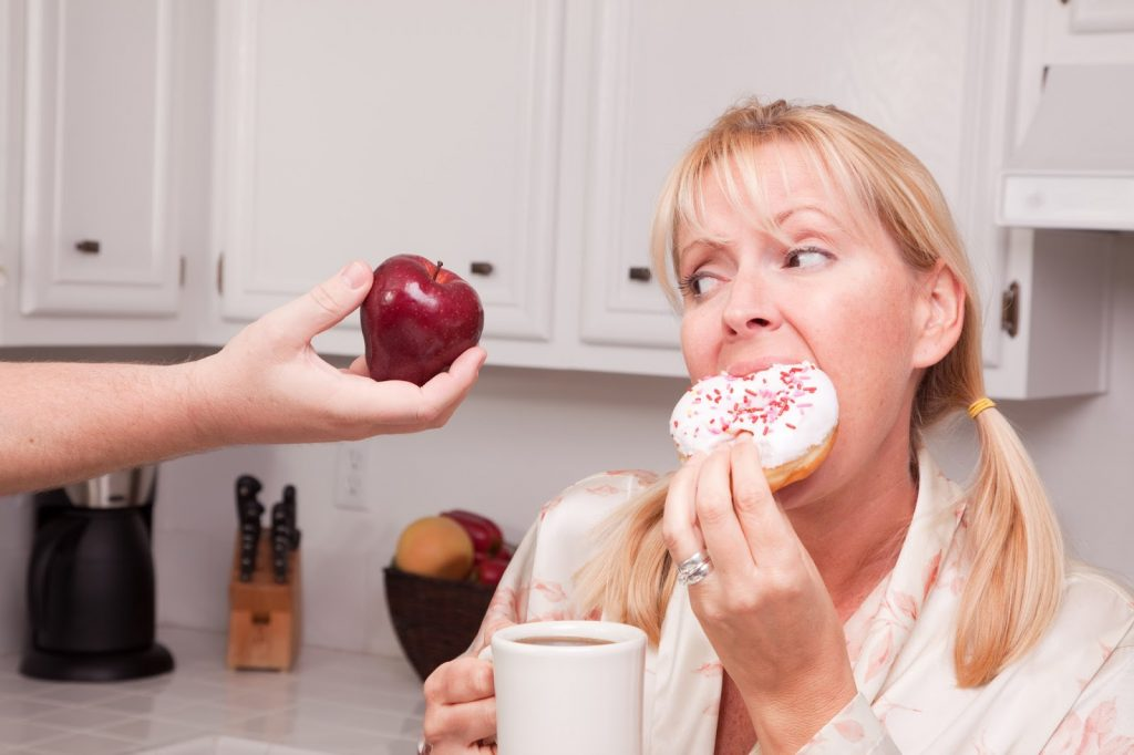 Как стресс связан с питанием