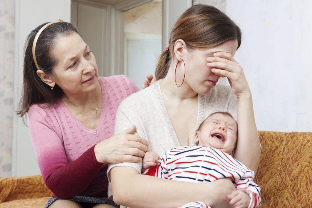 Как избавиться от послеродовой депрессии?
