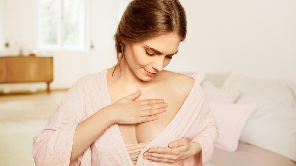 Как сохранить красивую грудь во время беременности