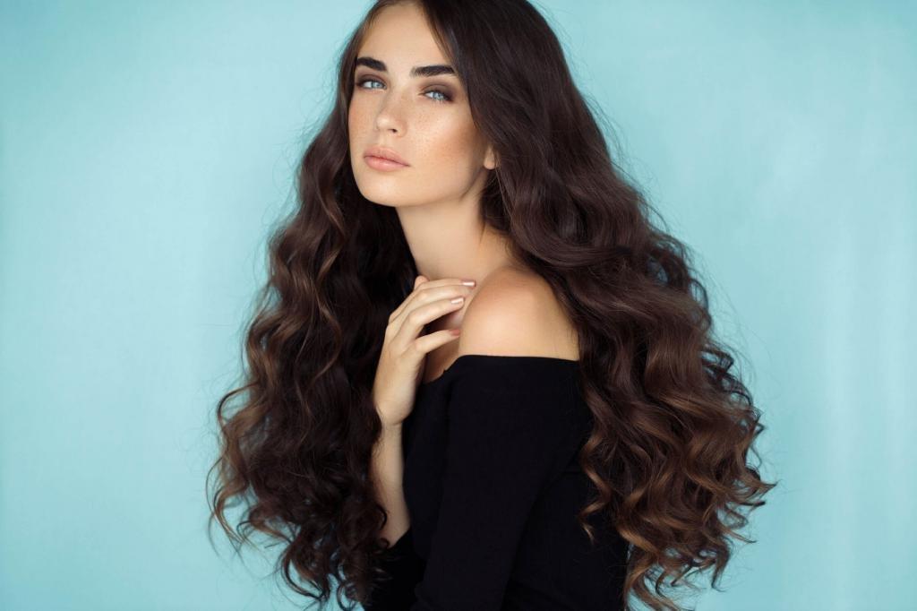Простые советы как сделать волосы густыми и роскошными
