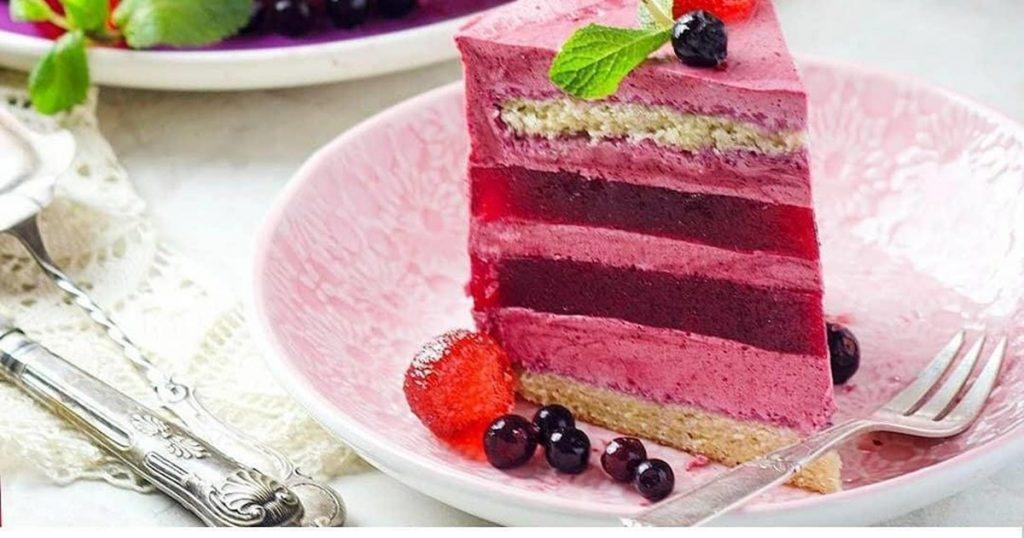 Муссовый торт «Ягодная нежность»